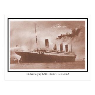 La foto titánica original tarjetas postales