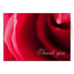 La fotografía color de rosa rosada le agradece car felicitación