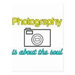¡La fotografía es buena para el alma! Postal