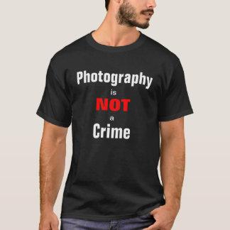 La fotografía no es un crimen playera