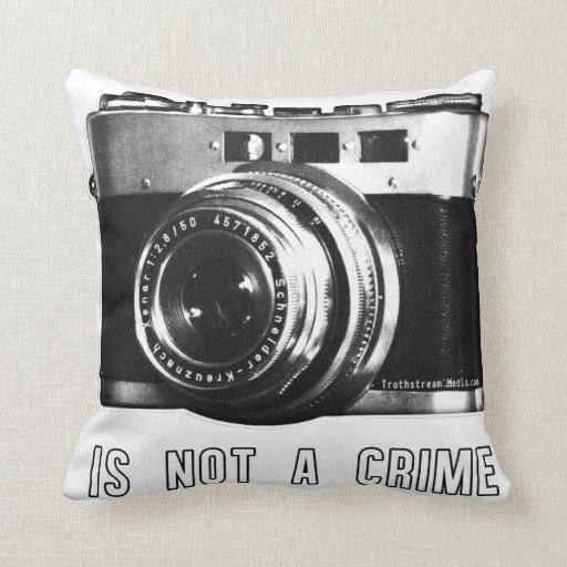 La fotografía no es una almohada del crimen