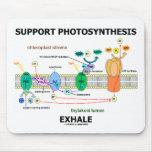 La fotosíntesis de la ayuda exhala (ambiental) tapetes de raton