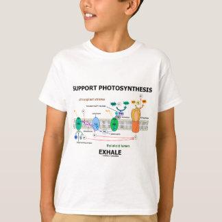 La fotosíntesis de la ayuda exhala (el humor de la playera