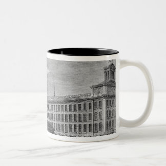 La Foudre' cotton mill Two-Tone Coffee Mug