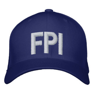 LA FPI Hat - white print