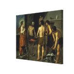 La fragua de Vulcan, 1630 Lona Envuelta Para Galerias