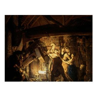 La fragua del hierro 1772 postal