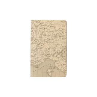 La France 1108 a 1180 Pocket Moleskine Notebook