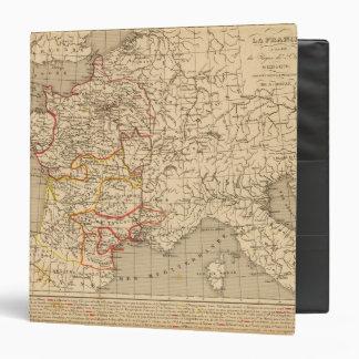 La France 1223 a 1270 3 Ring Binders