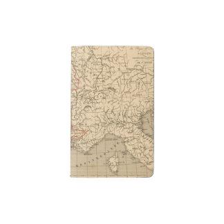 La France 1223 a 1270 Pocket Moleskine Notebook Cover With Notebook