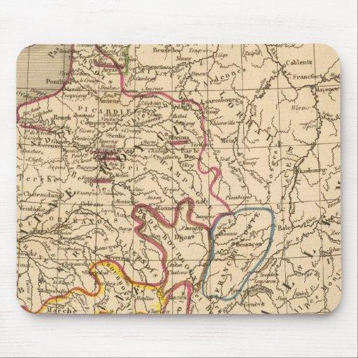 La France 1270 a 1328 Mousepads