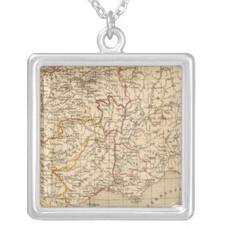 La France 1328 a 1350 Silver Plated Necklace