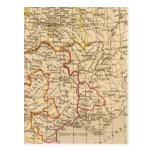 La France 1380 a 1422 Post Card
