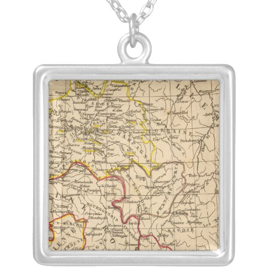 La France 1380 a 1422 Silver Plated Necklace