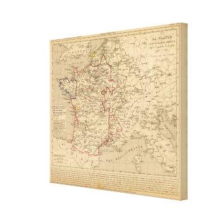 La France 1422 a 1461 Canvas Print