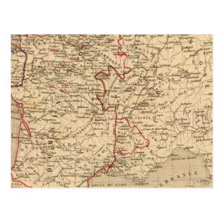 La France 1422 a 1461 Postcard