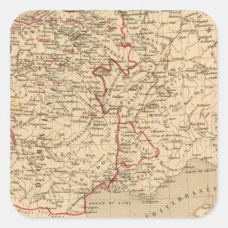 La France 1422 a 1461 Square Sticker