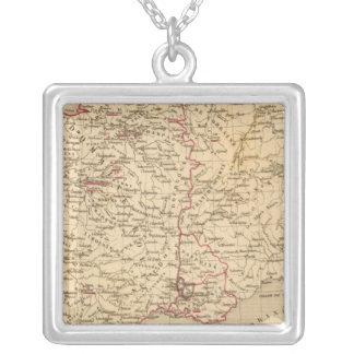 La France 1461 a 1483 Square Pendant Necklace