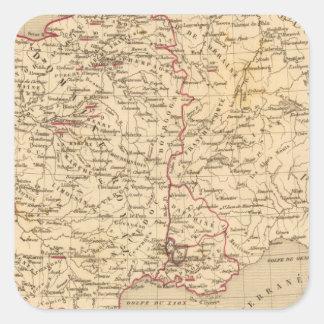 La France 1461 a 1483 Square Sticker