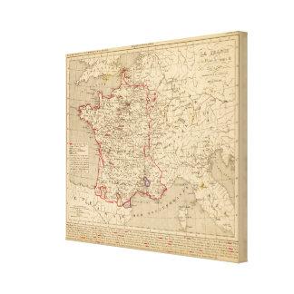 La France 1547 a 1589 Canvas Print