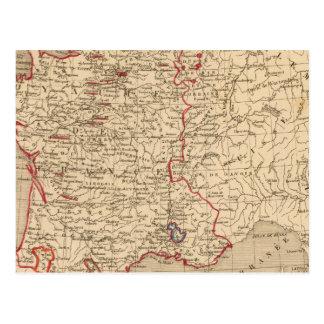 La France 1547 a 1589 Postcard