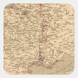 La France 1589 a 1643 Square Sticker
