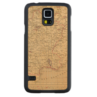 La France 1715 a 1774 Maple Galaxy S5 Slim Case