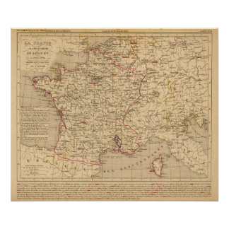 La France 1715 a 1774 Poster