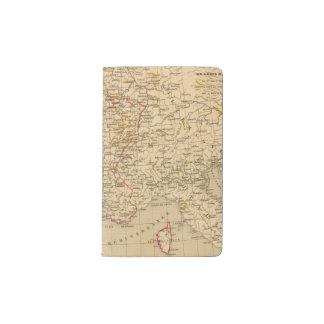 La France 1774 a 1793 Pocket Moleskine Notebook Cover With Notebook