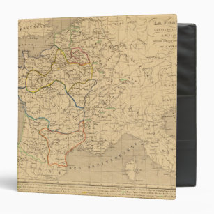 Map France 987.Personalize Your Own Map Of Paris Binder Stay Organized Today