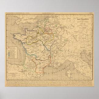 La France 843 a 987 Poster