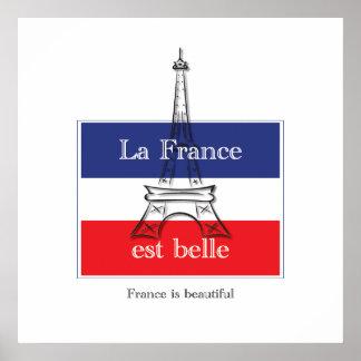 La France est Belle Poster