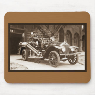 La France Fire Truck 1924 Mouse Pad
