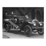 La France Fire Truck 1924 Post Cards