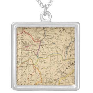 La France sous les enfans de Clovis Silver Plated Necklace