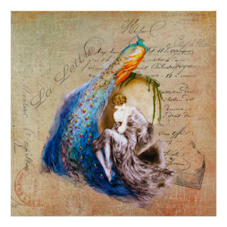 La francés Lettre del ~ de Nouveau del arte Impresiones