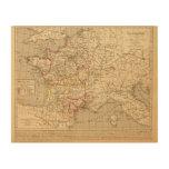 La Francia 1223 un 1270 Cuadro De Madera