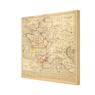 La Francia 1223 un 1270 Lona Estirada Galerias