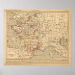 La Francia 1223 un 1270 Póster