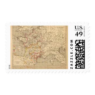 La Francia 1223 un 1270 Sellos