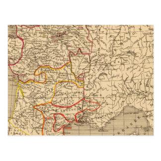 La Francia 1223 un 1270 Tarjetas Postales