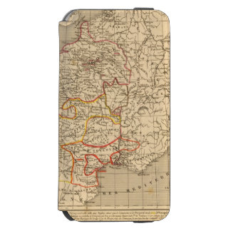 La Francia 1223 un 1270 Funda Cartera Para iPhone 6 Watson
