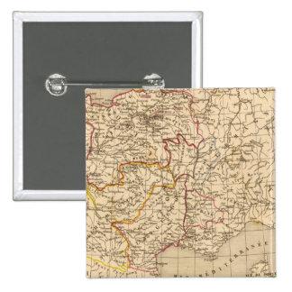 La Francia 1328 un 1350 Pin Cuadrado