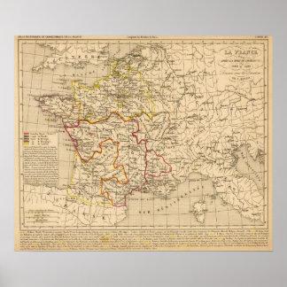 La Francia 1380 un 1422 Poster