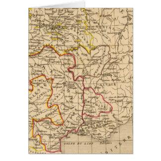 La Francia 1380 un 1422 Tarjeta