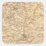 La Francia 1461 un 1483 Pegatina Cuadradas