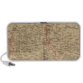 La Francia 1589 un 1643 Altavoces De Viajar