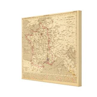 La Francia 1589 un 1643 Impresión En Lona Estirada