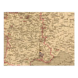 La Francia 1589 un 1643 Postal