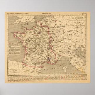La Francia 1589 un 1643 Posters